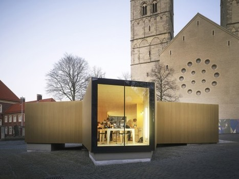 [Münster, Westphalia, Domplatz, Germany] Golden Workshop / Modulorbeat Ambitious Urbanists & Planners | The Architecture of the City | Scoop.it