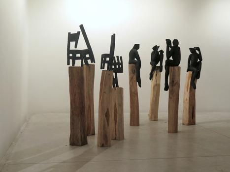 C cile fakhoury l 39 art contemporain avan for Art contemporain sculpture