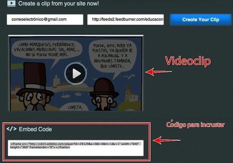 Cómo crear un videoclip de tu sitio web | Nuevas tecnologías aplicadas a la educación | Educa con TIC | Pizarra Digital | Scoop.it
