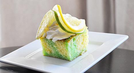 Lemon-Lime Poke Cake | Desserts | Scoop.it