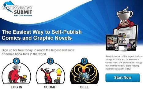 ComiXology prend le pari de l'autoédition avec Submit | Veille sur la bande dessinée pour tous | Scoop.it