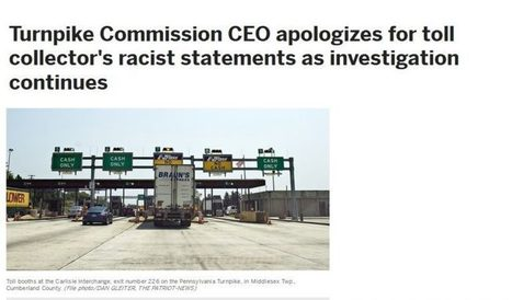 World's Most Fragile White Lawyer Turns Lowly Turnpike Worker Over To PC Police | VDARE - premier news outlet for patriotic immigration reform | THE MEGAPHONE | Scoop.it