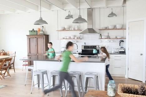 { Visite Déco } Une belle maison entre campagne et mer | DecoCrush blog déco, idées déco | décoration & déco | Scoop.it