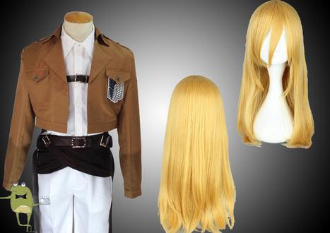 Shingeki no Kyojin Krista Lenz Cosplay Costume + Wig | Attack on Titan Cosplay Costumes | Scoop.it