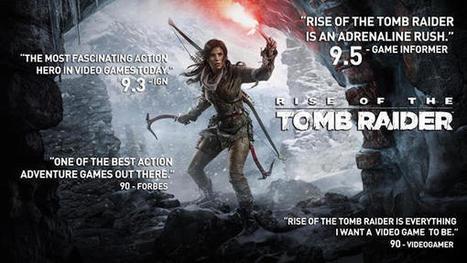 Rise of the Tomb Raider para PC: Conoce sus características gráficas. | Descargas Juegos y Peliculas | Scoop.it