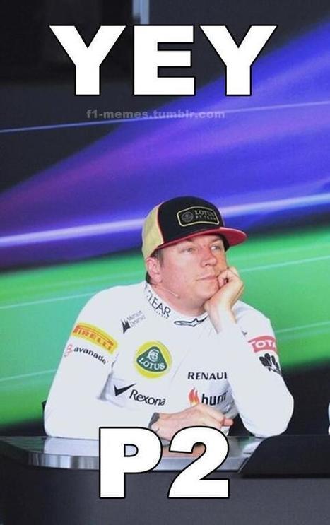 Twitter / Loose_Wheel_Nut: #KimiRaikkonen meme #F1 ... | Kimi Raikkonen - Iceman | Scoop.it