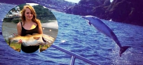 #Dolphin catches huge #cod fish then leaps from the water and DROPS it in family's BOAT ~ #AstonishingMoment *   Rescue our Ocean's & it's species from Man's Pollution!   Scoop.it
