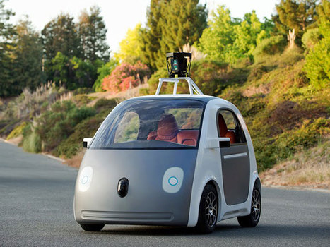 Google unveils plans for first self-driving cars | Future Trends and Advances In Education and Technology | Scoop.it