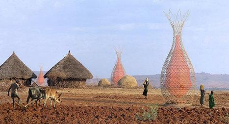 Ces tours en bambou transforment l'air en eau potable | écologie et nature | Scoop.it