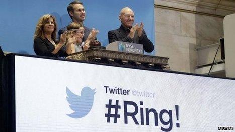 Twitter shares jump on market debut | A Level Media Studies | Scoop.it