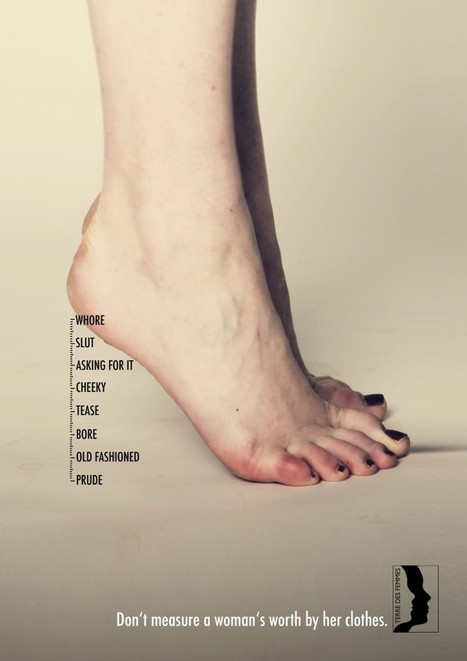 Don't measure a woman's worth by her clothes | ■Marketing Creativo - ADV - Campaign | Scoop.it