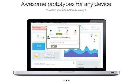 12 outils pour créer des prototypes de site web et d'application mobile | Trucs, Conseils et Astuces | Scoop.it