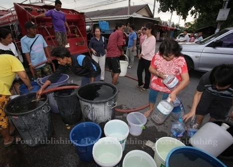 No tap water in 3 Pathum Thani districts | Ajarn Donald's Educational News | Scoop.it