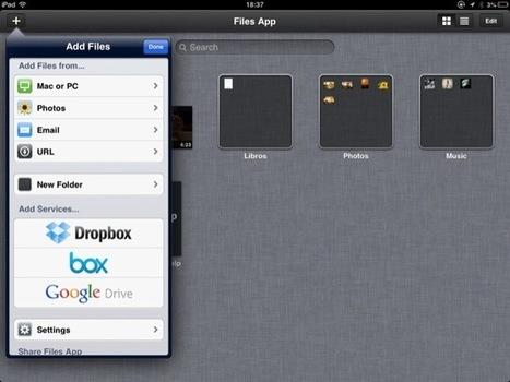 En el núvol: Files Apps, un gestor de fitxers per a iOS | APPLE, iMac, iPad, iPhone | Scoop.it
