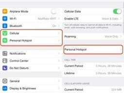 Come usare iPhone come router o modem wi-fi | Notizie e guide Apple | Scoop.it