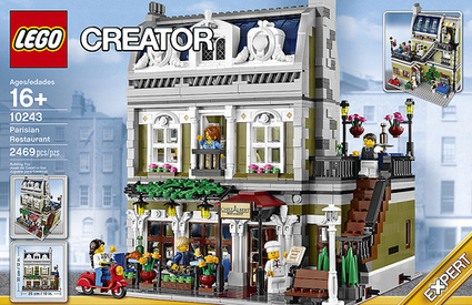 LEGO Creator Expert Parisian Restaurant (10243) Officially Announced | The Brick Fan | Scoop.it