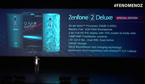 Asus Zenphone 2 Deluxe Edition Smartphone Comes with 256 GB Storage, 4GB RAM | Embedded Systems News | Scoop.it