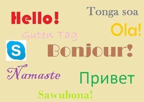 Se former en ligne avec un petit budget: apprendre une langue étrangère par Skype | François MAGNAN  Formateur Consultant | Scoop.it