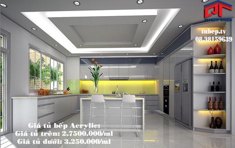 Tu bep | Tủ bếp MFC | Tủ bếp Acrylic | Tủ bếp hiện đại - Tủ bếp gỗ Acrylic, tủ bếp Acrylic bóng gương hiện đại - Liên hệ 08.38159639 | Đổi giấy phép lái xe b2 hết hạn | Scoop.it