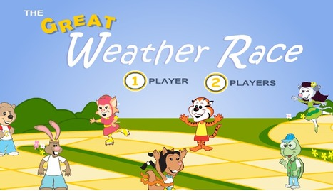 The Great Weather Race Game at Building Blocks | Extreme Weather and Related Natural Disasters | Scoop.it