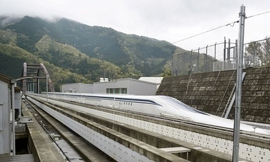 Japan's maglev train breaks world speed record with 600km/h test run | Things to come | Scoop.it