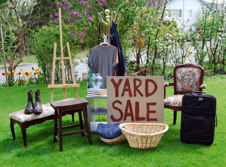 6 Essential Tips for a Successful Yard Sale | Organizing and Downsizing a home | Scoop.it