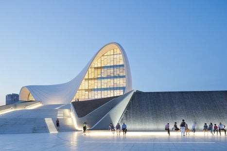 Zaha Hadid - Project - Heydar Aliyev Center | Kuche Design | Scoop.it