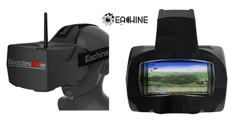 Eachine Goggles Two FPV glasses with HDMI | Quadcopter Flyers | Quadcopter Flyers | Scoop.it