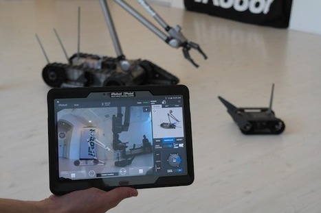 Need a controller for your robot? There's an Android app for that !   Robolution Capital   Scoop.it