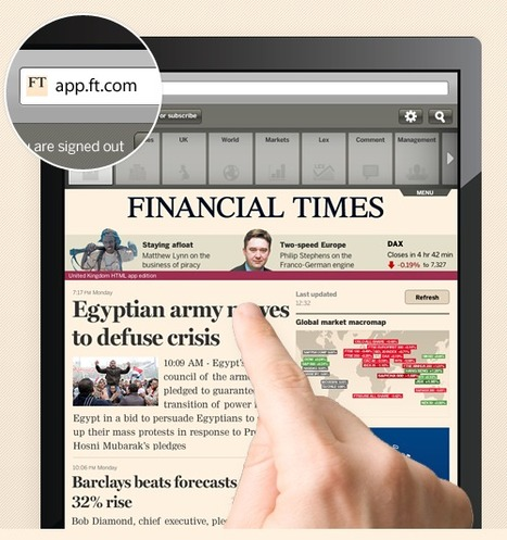 FT Bypasses Apple's iTunes, Launches HTML5 Web App (Free Access First Week) | Entrepreneurship, Innovation | Scoop.it