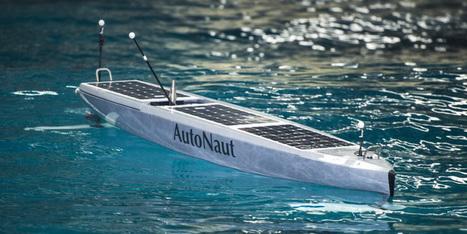 AutoNaut, le drone marin autonome qui récolte des données météo | BGE Innovation | Scoop.it