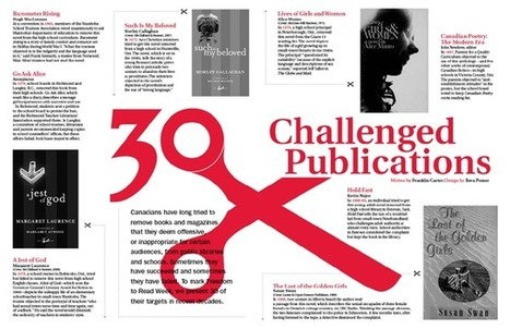 Freedom to Read — Raising Awareness. Celebrating Freedom of Expression. Encouraging Participation.   Banned Books   Scoop.it