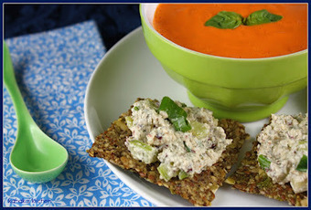 Raw Dream of Tomato Soup: Simple & Healthy for Souper (Soup, Salad and Sammie) Sundays | Healthy Whole Foods | Scoop.it