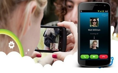 Tutoriel : Skype pour Android, c'est dans la poche ! | Time to Learn | Scoop.it