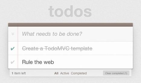 TodoMVC | CRAW | Scoop.it