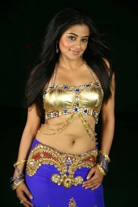 Telugu Girl Priyamani in Designer Lehenga Choli with Golden Blouse, Lehenga Choli Designs 2015, Actress, Indian Fashion, Tollywood | Indian Fashion Updates | Scoop.it