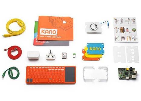 Kano: a Raspberry Pi computer that snaps together like Lego in 107 seconds | Raspberry Pi | Scoop.it