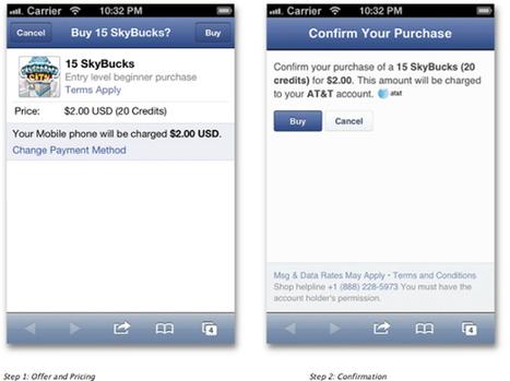 Facebook Launches Simple Mobile Payments | E-commerce, logistique, search marketing | Scoop.it