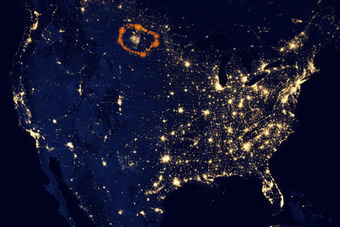 Massive Fracking Burnoff Can Be Seen From Outer Space | Natural History, Environment, Science, and Technology | Scoop.it