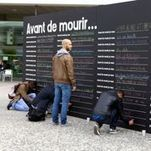 B2--« Avant de mourir, je veux… » : l'opération choc de la Prévention Routière | T7 - Faits de société, actualité, tendances | Scoop.it