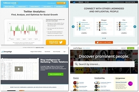5 tools for identifying online influencers | digital marketing strategy | Scoop.it