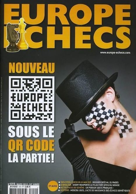 Chess QR Code | QRdressCode | Scoop.it