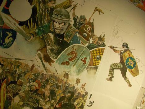 La guerre des Gaules: La bataille de Lutèce | La Guerre des Gaules en BD | Scoop.it