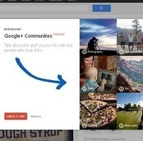 5 Reasons to Use Google Plus Communities for Brand Promotion | Social Media Today | All about Web | Scoop.it
