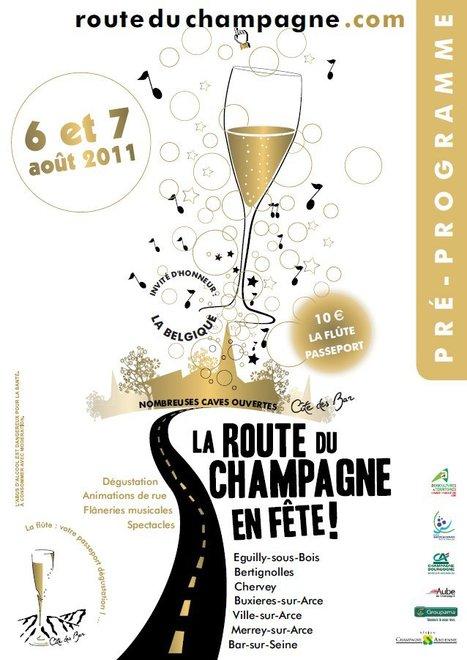 Route du Champagne en Fête 2011   La Route du Champagne en Fête (@Route_Champagne   Scoop.it