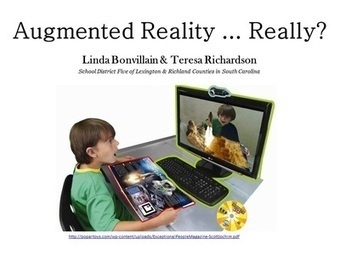Augmented Reality...Really? | Technology Bits & Bytes | Scoop.it