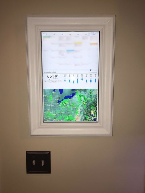 Raspberry Pi Display Shows Your Day at a Glance | Make: | Arduino, Netduino, Rasperry Pi! | Scoop.it
