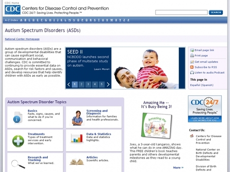 Centers for Disease Control and Prevention (CDC) | The Autism News | OB's Autism News | Scoop.it