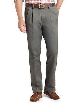 Izod Big and Tall Pants, Double Pleat Pants - Big & Tall Pants - Men - Macy's | fashion pants | Scoop.it