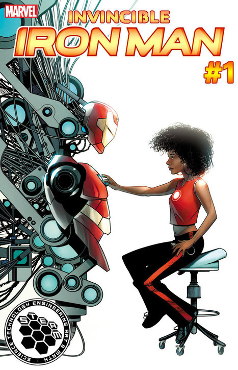 A Hero For The Arts And Sciences: Upcoming Marvel Covers Promote STEAM Fields | Into the Driver's Seat | Scoop.it
